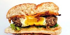 Consider this the ultimate Easter hunt: an egg inside of one seriously amazing burger.