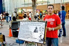 Louis Lionheart's TRuth telling About islam on 3rd St. Promenade. Some continue to believe the false narrative islam is a religion of peace and condemn those who speak the truth as being bigots?? 12-8-14 by PH