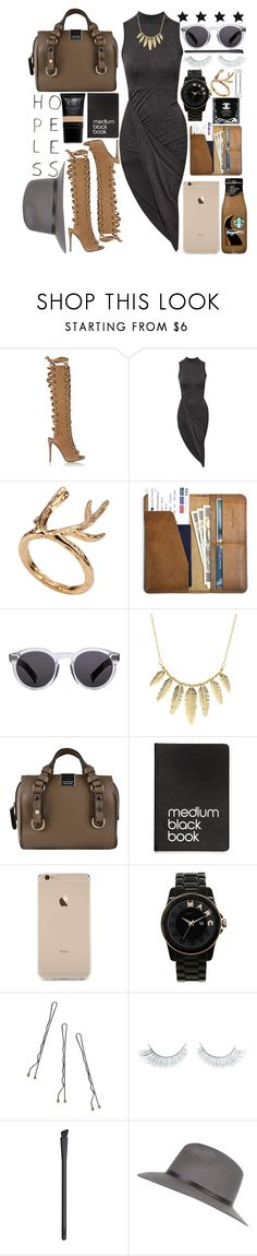 """Love Me Harder"" by drakkon-khan ❤ liked on Polyvore featuring Giuseppe Zanotti, Club L, CO, Illesteva, Charlotte Russe, Dsquared2, Dinks, Marc by Marc Jacobs, Conair and Napoleon Perdis"
