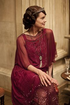 Cora in Downton Abbey Series 4, Part 5