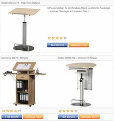 Stehpult Rednerpult Lesepult - Testsieger Vergleichstabelle › http://www.stehpult-kaufen.com/stehpult-rednerpult-lesepult-vergleichstabelle-testsieger/