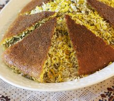 This golden rice crust cooks on the bottom of a rice-filled pan, yielding a varied taste and a great, crunchy addition to the rice pilaf!