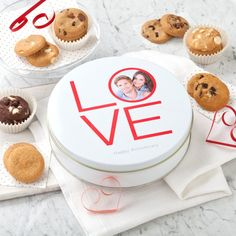 LAST DAY TO ENTER & WIN...  WIN your tin and be featured in our 2016 Valentine's Day Catalog!  Share and WIN by uploading a photo to one of our 2 valentine templates and earn a chance to win it, along with tasty treats from Mrs. Fields!  Be sure to include #winyourtin   Start designing now...