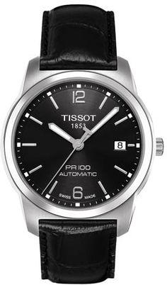 T049.407.16.057.00, T0494071605700, Tissot pr 100 automatic watch, mens