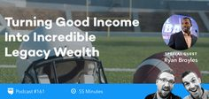 A lot of people make good income from their jobs, but few are able to turn that income into lasting, generational wealth. That's why we're super pumped to