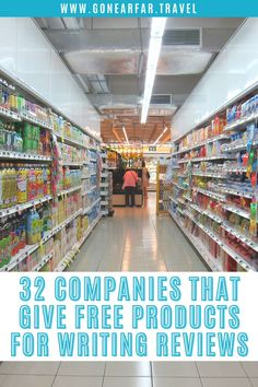 Do you like Freebies? Well, did you know that companies will give you free products in exchange for your honest opinions? Some companies will ask you to product test their newest gear and others will send you full boxes of samples. Here are 32 companies that will give you free products in exchange for reviews. get free products to write reviews, how to get free products from companies, companies that will give you free products, frugal living, product testing for free, I love freebies Money Saving Meals, Save Money On Groceries, Food Cost, Foster Mom, Artisan Food, Food Intolerance, Saving Ideas, Saving Tips, Shopping Hacks