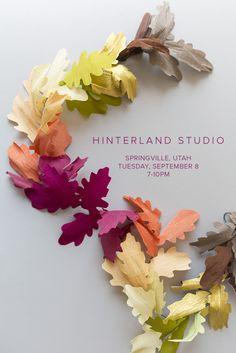 Paper garland workshop                                                                                                                                                                                 More