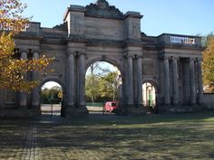 The main entrance to Birkenhead Park, Paxton, Hornblower and Inside Outside, Outside World, Most Beautiful Beaches, Beautiful Places, Liverpool Town, New Brighton, Bee Tattoo, Mount Pleasant, Main Entrance