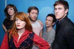 Florence+The Machine (Florence Welch, Robert Ackroyd, Christopher Lloyd Hayden, Isabella Summers Tom Monger, Mark Saunders)