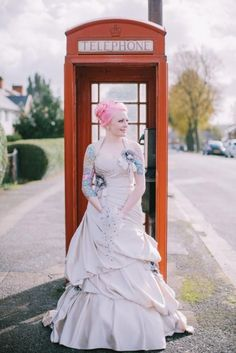Pink haired brides always have a special place in my heart (it's not difficult to see why!) and so when wedding photographer Chris Barber submitted Cat and Craig's October wedding I didn't hesitate to say yes! The wedding took place on Sunday 20th and was held at New Hall Hotel and Spa in Birmingham.