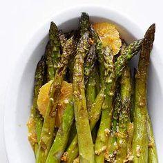 Roasted asparagus and orange salad