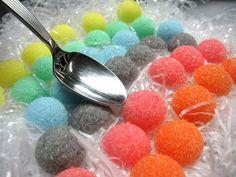 3 Dozen Sugar Dots Cubes Rainbow Colored for by WishingwellArt, $6.00
