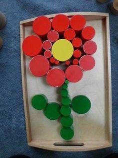 lente in de onderbouw : zintuiglijk materiaal - MontessoriNet