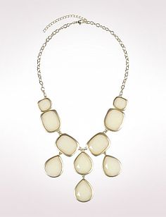 I wore this necklace today out shopping & so many people complimented me on it :) Faceted Teardrop Frontal, Dressbarn.