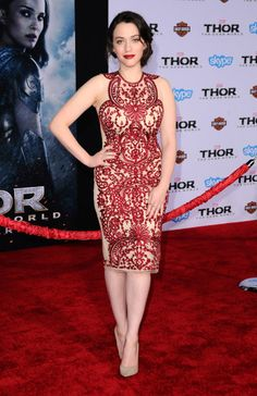 Thor The Dark World Los Angeles Premiere, Kat Dennings
