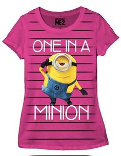 Despicable Me One In A Minion Junior T-shirt S Hybrid http://www.amazon.com/dp/B00GA7PVEM/ref=cm_sw_r_pi_dp_69mdub1MKABDJ