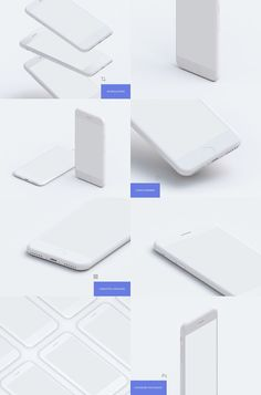 A stunning set of 9 resolution iPhone mockups. The freebie includes 9 different mockups from multiple views and perspectives. Comes in PSD format at resolution, each mockup is built with smart objects for easier replacement of screens. Web Design Quotes, Web Design Trends, Web Design Inspiration, Design Posters, App Ui Design, Mobile App Design, Design Design, Graphic Design, Brochure Design