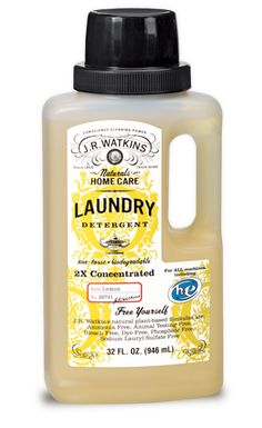 Liquid Laundry Detergent   J.R. Watkins --- 75% of American's think it's important to use natural cleaning products but only 22% actually do!