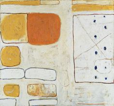William Scott, White, Sand and Ochre, 1960–61, Oil and sand mixed paint on canvas, 160 × 172.7 cm / 63¼ × 68 in, Tate, London