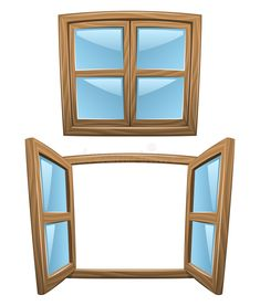 Find Cartoon Wooden Windows Closed Open Vector stock images in HD and millions of other royalty-free stock photos, illustrations and vectors in the Shutterstock collection. Learning English For Kids, English Lessons For Kids, Casement Windows, Windows And Doors, Window Clipart, Material Didático, Preschool Learning Activities, Kindergarten Worksheets, Wooden Windows