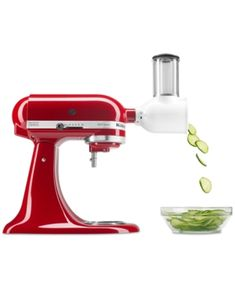 Transform your KitchenAid stand mixer into a versatile kitchen appliance with the KitchenAid Fresh Prep slicer/shredder attachment. The Fresh Prep slicer/shredder attachment greatly expands your stand mixers flexibility and easily connects to the pow Kitchenaid Artisan, Kitchenaid Stand Mixer, Kitchenaid Attachments, Artisan Mixer, Small Kitchen Appliances, Kitchen Aid Mixer, Kitchen Gadgets, Kitchen Storage, Fresco