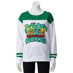 Freeze Teenage Mutant Ninja Turtles Juniors' Football Fleece Sweatshirt