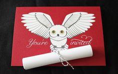 Potter Frenchy Party - Une fête chez Harry Potter: Inspiration : invitations et faire-parts sur le thème de Harry Potter - 1