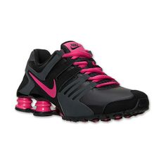 Women's Nike Shox Current Running Shoes ($100) ❤ liked on Polyvore featuring shoes, athletic shoes, nike footwear, waffle shoes, special occasion shoes, holiday shoes and running shoes