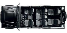 Land Rover Defender110 Station Wagon = Interior