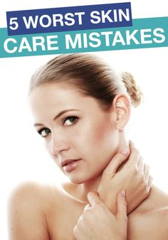 Read this article to avoid these common skin care mistakes. [ 4LifeCenter.com ] #beauty #life #health