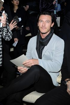 Front Row at the Emporio Armani Runway Show - Pictures - Zimbio
