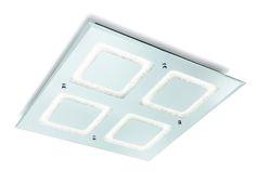 Plafón de techo LED cuadrado WINDOWS 51 cm 5094 de Mantra [5094] - 152,10€ :