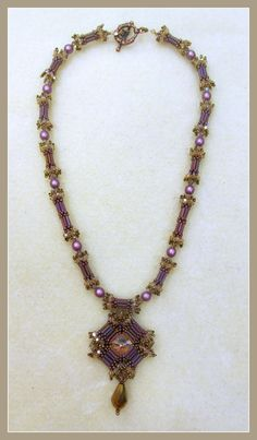 This is my pattern on how to do a Carnival Necklace. It is a 6 page tutorial that teaches you step by step how to make this beautiful necklace.