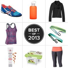 Best Fitness Gear 2013. Some jackets, shoes, and leggings to lust over.