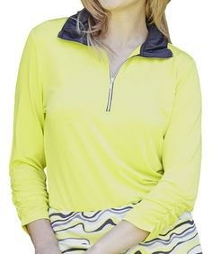Look what I found on #zulily! Citron & Slate Carrie Pullover by GGblue #zulilyfinds