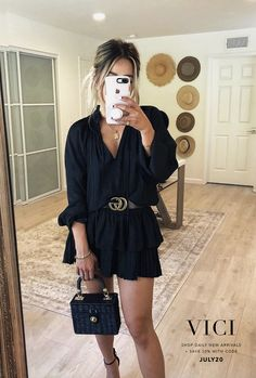 casual jean outfits for spring Spring Summer Fashion, Spring Outfits, Autumn Fashion, Casual Dresses, Casual Outfits, Fashion Outfits, Fashion Shirts, Simple Dresses, Fashion Blouses