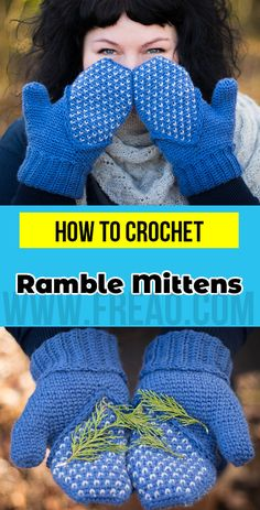 7 Of The Coolest Crochet Patterns From This Fall Crochet Gifts, Cute Crochet, Beautiful Crochet, Crochet Yarn, Chrochet, Crochet Mittens Pattern, Crochet Patterns, Crochet Ideas, Bobble Stitch