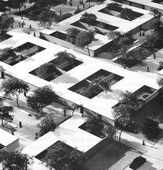 D. Haid, rehabilitación de un barrio con casas patio, Chicago 1967