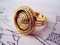 Anel Vintage Gold R$24.00