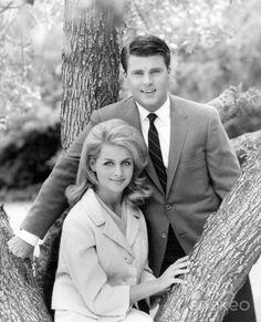 Rick Nelson and Kris Harmon's engagement photo - early 1963