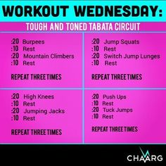 Tabata workout ---> One of the best Tabata Workout. Check our video http://www.indetails.com/3704/10-minute-tabata-legs-and-chest-workout/