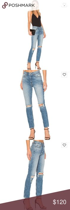 Revolve GRLFRND Distressed Jeans Sz 25 Sexy GRLFRND Jeans from Revolve. So sexy chic! It's very similar to vintage Levi's Jeans. These jeans are originally $248. Brand new with no tags. Super cute with heels and a comfy top. Your new favorite pair of jeans! GRLFRND Jeans