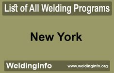 Browse all Welding Programs in New York, the United States. Welding Programs, Programming, New York, United States, The Unit, New York City, Nyc, Computer Programming, Coding