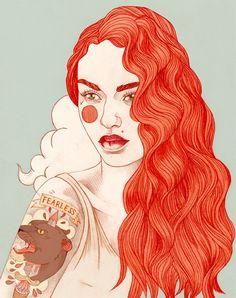 Liz Clements - Illustration