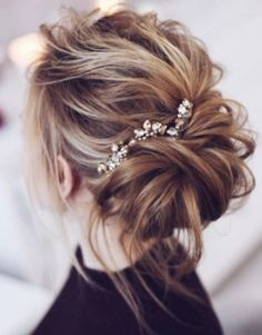 Tonya Pushkareva Wedding Hairstyle Inspiration Saç #Hair http://turkrazzi.com/ppost/55309901656673942/