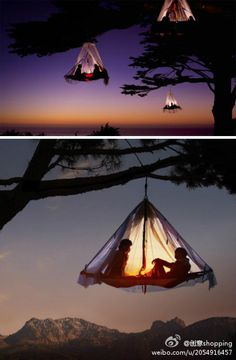 That is how I wanna camp!