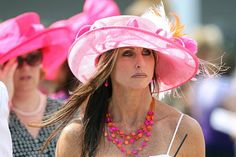 DERBY HATS!!! live from the 2012 kentucky derby!!! plenty of PINK!! :-)