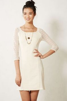Laced Frost Dress, Love this for any season