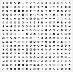PICTOS 1 Hand crafted, Infinitely scalable & Royalty-Free Icons for User Interface Three Hundred Twenty Four Unique Interface Icons Web Design, App Ui Design, User Interface Design, Icon Design, Creative Design, Minimalist Icons, Free Icon Fonts, Free Icon Packs, Royalty Free Icons