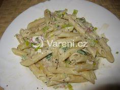 Výborná a rýchla sýrová omáčka na těstoviny. Vareni.cz - recepty, tipy a články o vaření. Asparagus, Vegetables, Food, Studs, Veggies, Veggie Food, Meals, Vegetable Recipes, Yemek